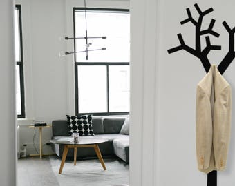 Tree Clothes Hanger Wall Decal | Home Decor | Home Improvement Ideas | Coat Hook | Hooks Hangers | Interior Design Ideas