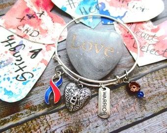 CHD Zipper Bangle Bracelet