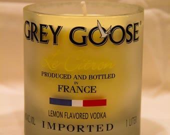 Grey Goose Citron Candle