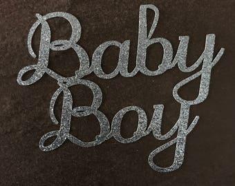 Cake topper - Baby boy - Baby Shower