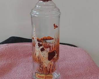 Kentucky Straight Bourbon Whiskey Collector Decanter