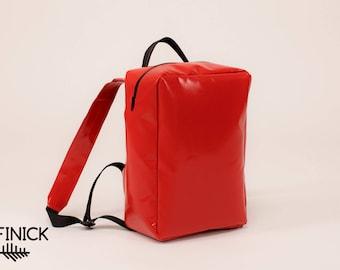 Backpack T1011, Handmade backpack, Travel backpack, Laptop backpack, Vegan backpack, Womens backpack, backpack, Waterproof backpack