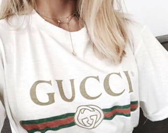 Gucci Shirt Style Vintage