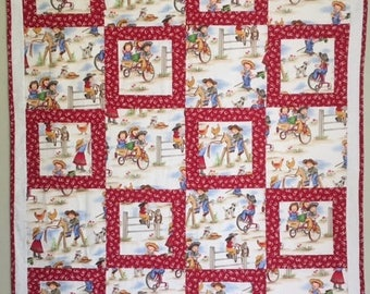 Lil Cowgirl Quilt