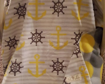 Ready to ship! Anchors Carseat canopy