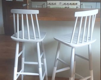 bar stool etsy. Black Bedroom Furniture Sets. Home Design Ideas