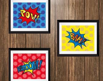 Comic Style Superhero Art