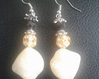Elegant Stone Earrings