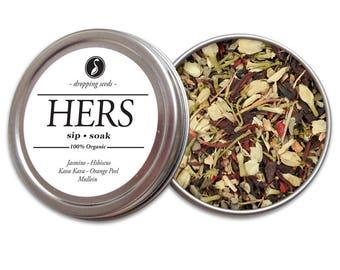 HERS Herbal Blend - Chakra Tea - Herb Blend - Herbal Magic, Diy Herbal Blend, Chakra Blend, Herbal Tea Blend, Herbal Soak, Herbal Bath Salts