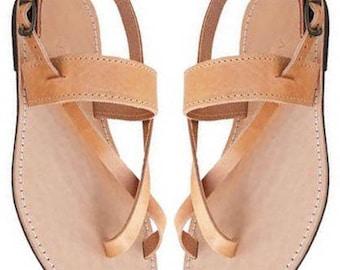 Sandals Women's,Women's Sandals, Leather Sandals,Greek Sandals,Strappy Sandals,Handmade Sandals ,Classic Sandals,Archaiko,ROXANE