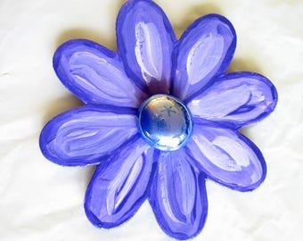 Large Flower Fridge Magnet