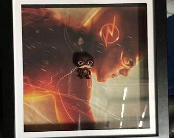 DC The Flash Inspired Funko Pocket Pop! Frame