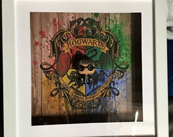 Harry Potter Inspired Funko Pocket Pop! Frame
