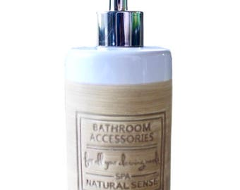 Rustic Chic Soap/Lotion Pump
