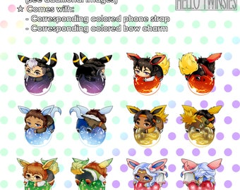 VLD x Eeveelution Charms