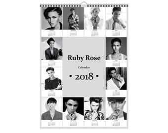 Ruby Rose Calendar 2018