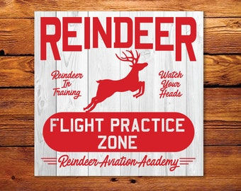 Reindeer Aviation SVG, Fixer Upper Christmas Vector, Vintage Christmas SVG, Print, Vector, Magnolia Farms, Rustic, Joanna Gaines, Stencil