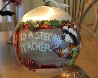 """1979 """"To a Special Teacher"""" Hallmark Keepsake Ornament - Vintage"""