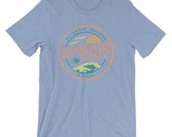 Spring Break New Orleans LA D Short-Sleeve Unisex T-Shirt