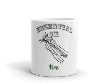 Essential Oil Pine Mug