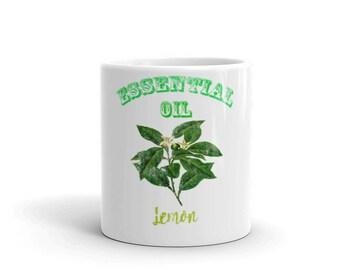 Essential Oil Lemon Mug