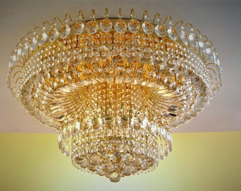 Crystal ceiling lamp, Crystal light, chandelier, ceiling lamp