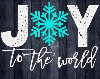Joy to the World, Christmas Svg,Dxf,Png,Jpeg