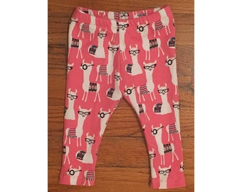 Baby Leggings . Llama Leggings . Childrens Leggings