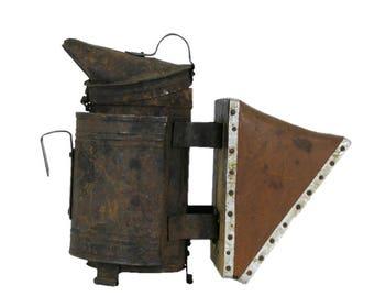 Vintage bee smoker, beekeeper tool, beekeeper gift, apiarist tool