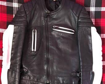 Vintage Men's Leather Motorsycle Jacket