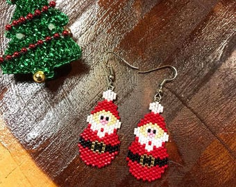 Santa Claus Earrings