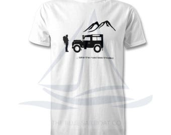 Land Rover Explorer Logo T Shirt, Classic, Novelty T-Shirt, Cars, Novelty Gift, Defender T-Shirt, Land Rover T-Shirt Adults