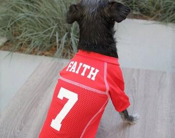 Dog Jersey | Custom Dog Jerseys | Pet Jersey | Dog Shirt | Pet Clothing | Dog Clothing | Dog Football Jersey