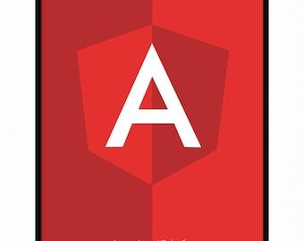 Angular A3 Programming Poster