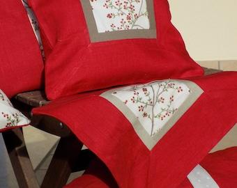 Pure Linen Decorative Pillow