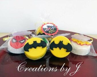 1 dozen (12 treats) Batman Oreos