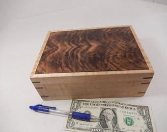 Keepsake box, wooden box. jewelry box, wood box