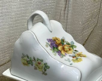 Vintage Covered Cheese Dish