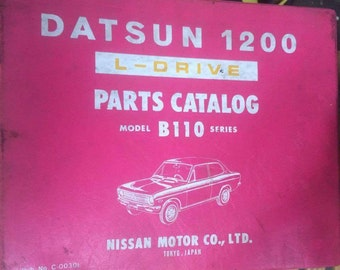 Datsun 1200 L-DRIVE Parts catalog Model B110 Series