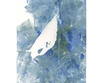"""Leaf in White"" – 01"