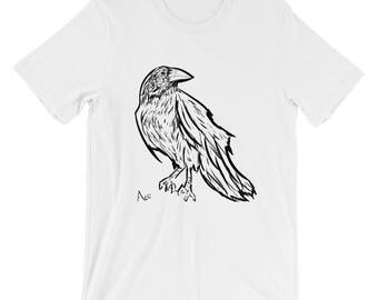 The Raven by Ace of Tentacles - Short-Sleeve Unisex T-Shirt