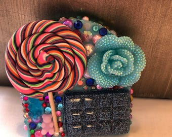 Candy Bling Compact Mirror
