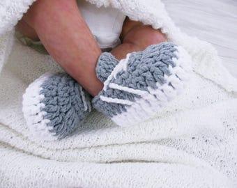 Crochet baby shoes Baby sneakers Baby booties Shoes gift, Crochet slippers, Sneakers shoes, Newborn shoes, Infant baby shoes, Shoes newborn,