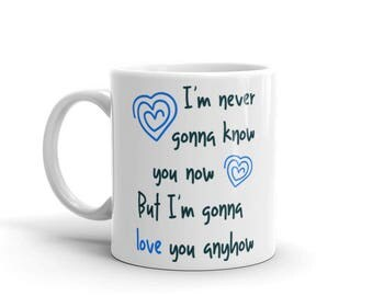 I'm never gonna know you now but I'm gonna love you anyhow Elliott Smith song lyrics music emo mug