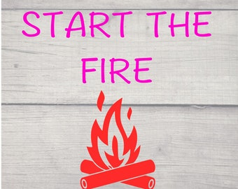 We Didn't Start the Fire SVG and PNG Digital Download