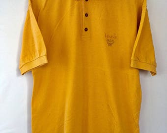 Vintage 90s Mens MCM Legere Collared Polos Shirt