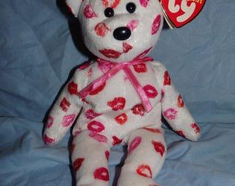 10 Yr Anniversary Valentine Beanie Baby Bear