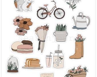 Spring Essentials Sticker Pack