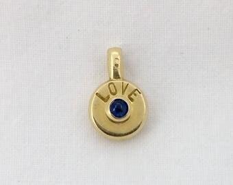 Vintage gold pendant