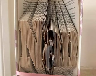 Nan Book Folded Art